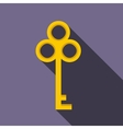 Cold key icon flat style vector image