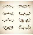 simple decorative scripts vector image