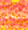 Abstract background of different color triangles vector image vector image