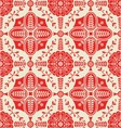 PATTERN WITH FLORAL ORNAMENTAL vector image