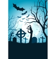 Halloween Party Poster Holiday Card vector image
