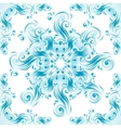 Vintage background with swirls ornaments vector image vector image