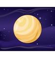 Pluto Planet Sun System Universe vector image