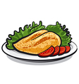 chicken breast vector image