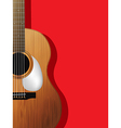 Guitar composition vector image