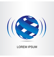 Logo sphera 004 vector image