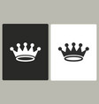 crown - icon vector image