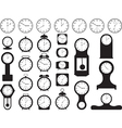 House clocks vector image vector image