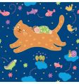 lullaby pattern vector image