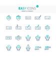 easy icons 13e money vector image