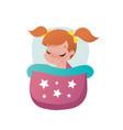 little girl child vector image