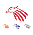 falcon logo template vector image