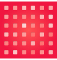 abstract red pink square pattern vector image