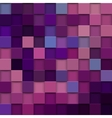 square mosaic 3d Vintage colorful texture vector image vector image