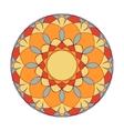 Guilloche decorative element vector image vector image