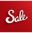 Sale Design Template Background vector image vector image