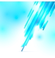 Abstract blue and white shiny background vector image