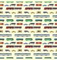 city transport set vector image vector image