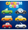 Cartoon Automobiles vector image