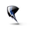 shield lighting symbol design vector image