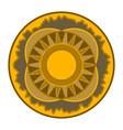 mandala - circular pattern round ornament vector image