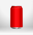 red can template vector image
