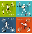 Physical Activity Set vector image