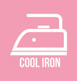 Ironing instructions vector image