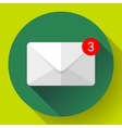 Envelope Mail Icon new letter sms message vector image