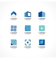 Set of icon design elements vector image