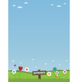 spring time vector image vector image