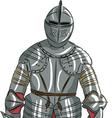 armor b vector image