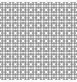 seamless pattern geometric tiles vector image