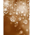 Elegant christmas background EPS 8 vector image