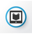Learning icon symbol premium quality isolated e vector image