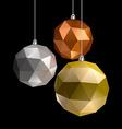 Three Balls vector image vector image