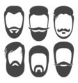 BeardsFlat vector image