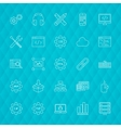 Programming Line Icons vector image