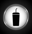 soda icon vector image