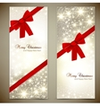Christmas Cards Template Vector Image