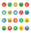 Education Colored Icons 5 vector image