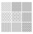 Geometric Seamless Patterns vector image