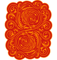 Russian style pattern vector image