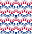 Zig zag geometric pattern retro style background vector image