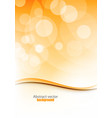 abstract brochure template design with elements of vector image