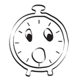 alarm clock icon Editable graphic in vector image