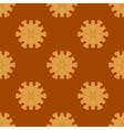 Red Brick Seamless Ornament Isolated vector image
