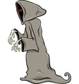phantom or ghost cartoon vector image vector image