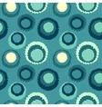 Seamless geometric polka do spotty pattern Polka vector image