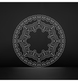 Ethnic Circle Element Orient Traditional Design vector image vector image